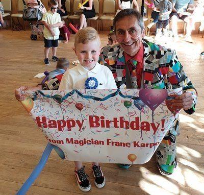 Boston birthday magician